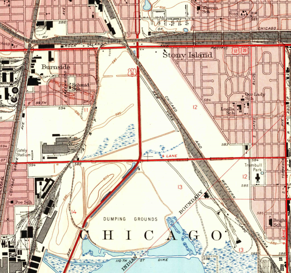 Forgotten Railways, Roads & Places: The Ghost Highways of ... on map of hwy 301, map of dulles greenway, map of indiana toll road, map of dulles toll road, map of suncoast parkway,