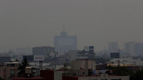 Alertan sobre altos índices de contaminación en Ciudad de México