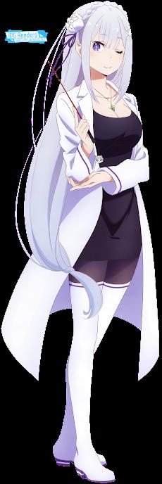 Re Zero Kara Hajimeru Isekai Seikatsu - Emilia Render 12
