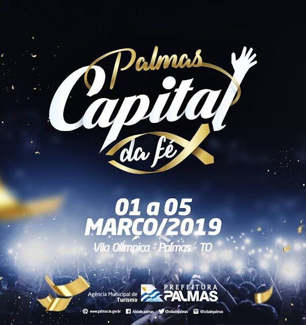 palmas capital da fé 2019