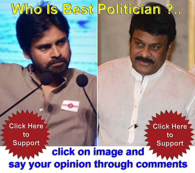 who is the best politician? Chiranjeevi or Pavan Kalyan ? Sayreview.com - Voice of People