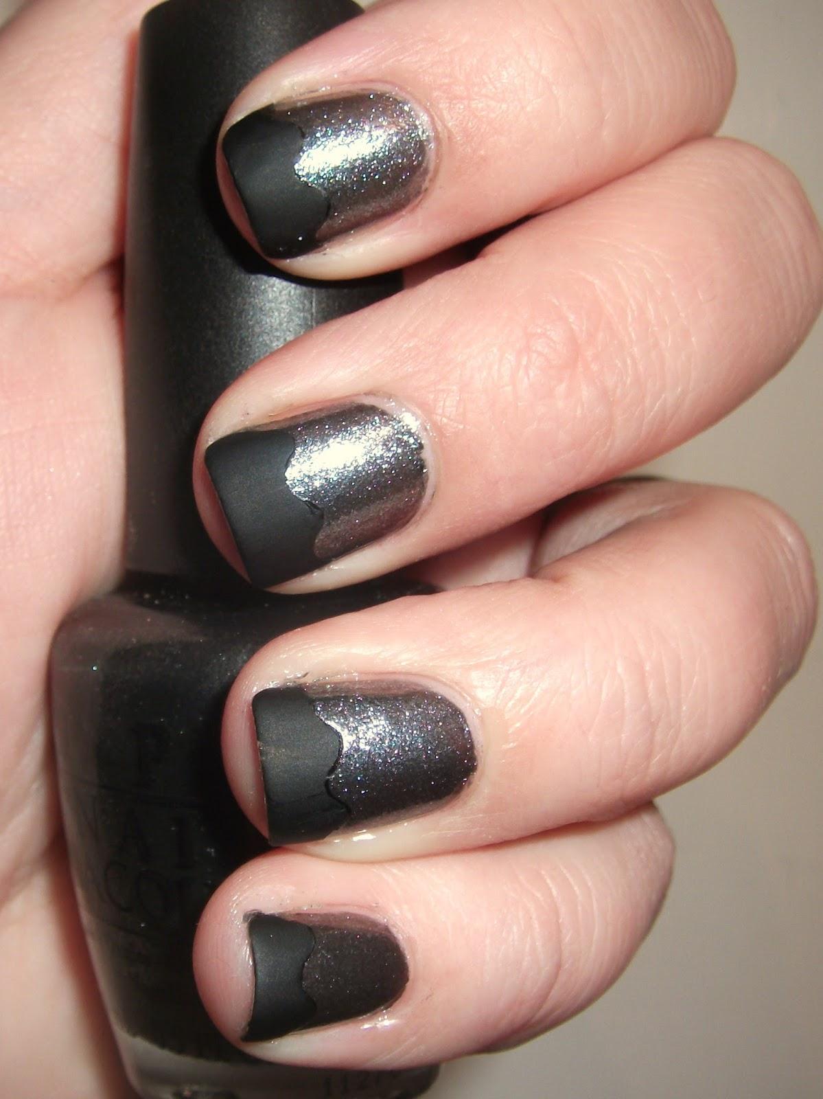 Multi colored toenail polish - 3 4