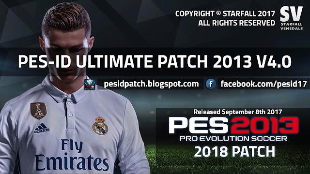 Patch PES 2013 Terbaru dari PES-ID Ultimate V4 AIO