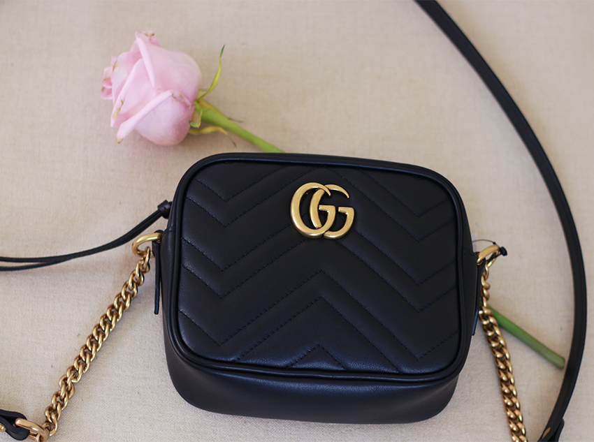 135f122aa457 It was between this one of the Gucci Soho Disco bag which my friend has and  I love it.I went with GG marmont because it has a softly structured shape  with ...