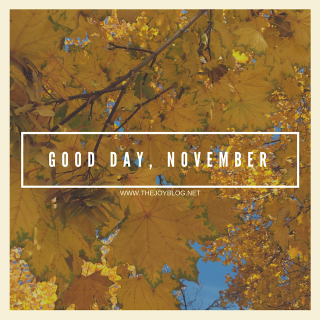 NOVEMBER 2016 PLAYLIST - WWW.THEJOYBLOG.NET