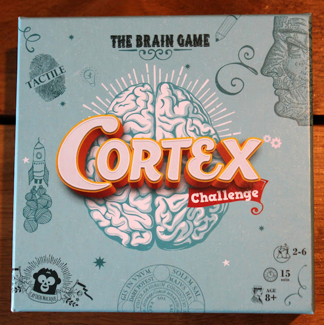 Cortex Challenge review - box art