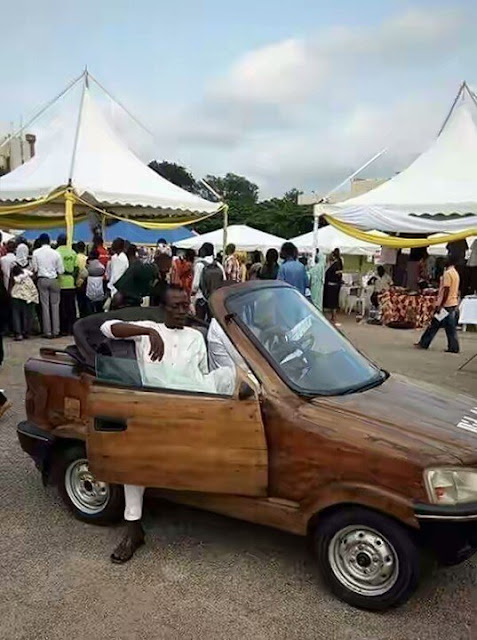 Wooden Car In Nigeria