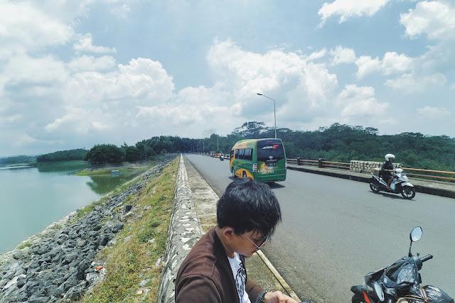 Spot Foto keren bendungan Lahor Malang