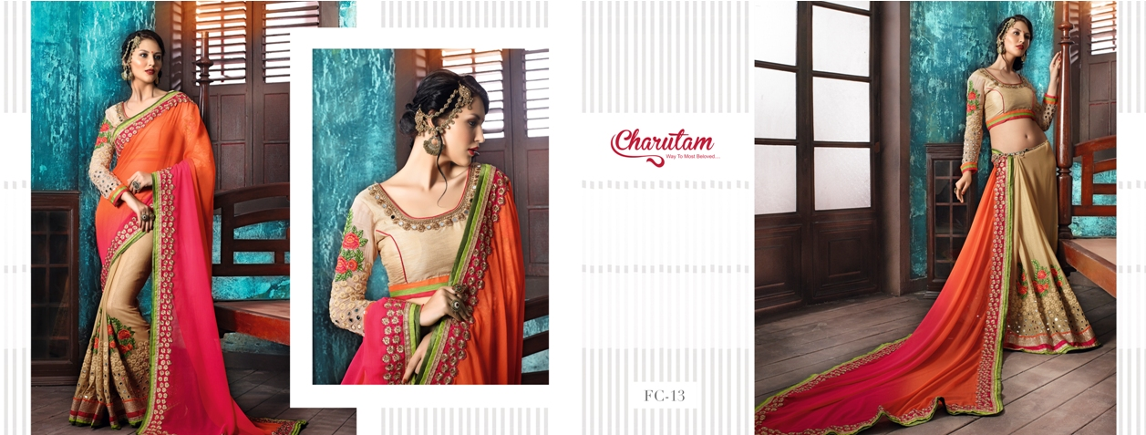 Festive Collection Vol 2 – Attractive Look Designer Saree Wholesale