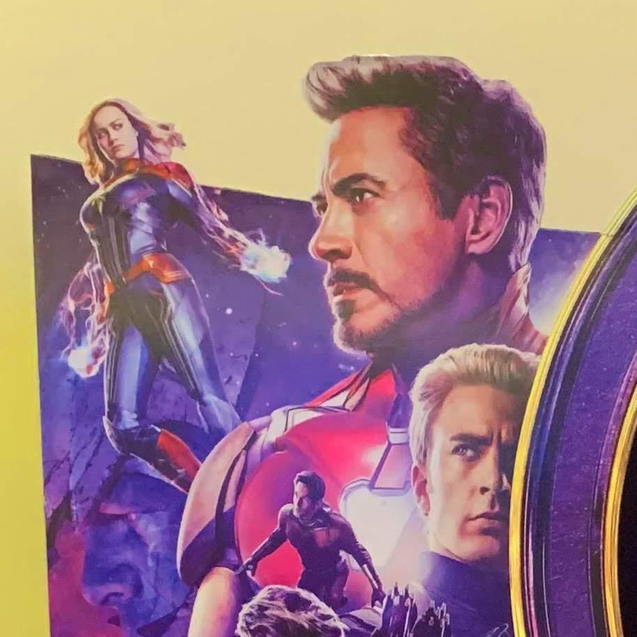 Avengers Endgame Theater Standee : マーベルのヒーロー大集合映画のクライマックス「アベンジャーズ : エンドゲーム」のスタンディー ! !
