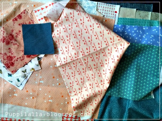 Fabric Pull, Fabric Stash, Puppilalla, Penny Patch Quilt, modern quilting