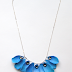 How to Make a Faux Flower Petal Necklace Tutorial