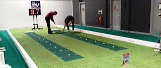 Pressure Putt Challenge at the American Golf Show in Manchester