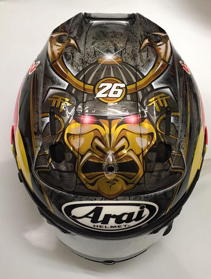 2018 Suzuki Samurai >> Racing Helmets Garage: Arai D.Pedrosa Winter Test Sepang 2017 by Starline