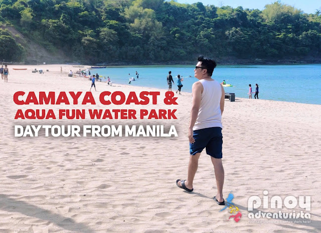 Camaya Coast Aqua Fun Day Tours from Manila