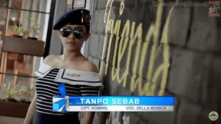 Lirik Lagu Della Monica - Tanpo Sebab