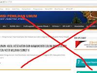 Pengumuman Calon Anggota KPU Timsel Sumut V Dinilai Cacat Hukum