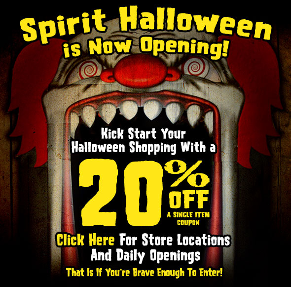 picture regarding Spirit Halloween Coupon Printable known as Spirit halloween coupon 2018 - Proderma mild coupon code