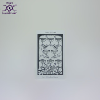 The Hermetic Tarot - 8 of Cups