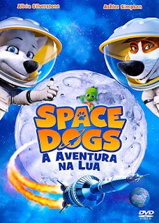 Space Dogs: A Aventura Na Lua - BDRip Dual Áudio