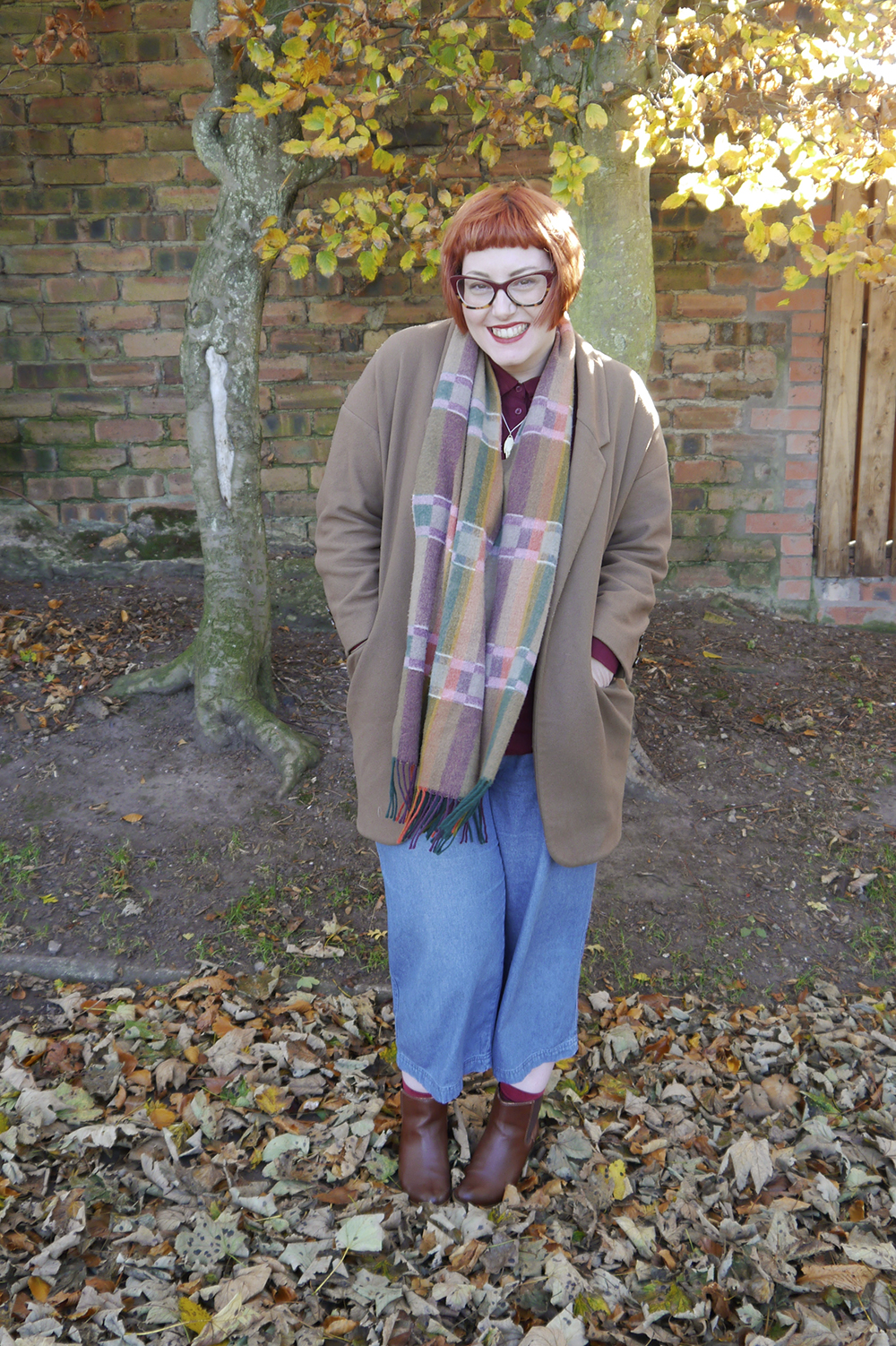 Scottish blogger Helen from Wardrobe Conversations dresses for the changing seasons