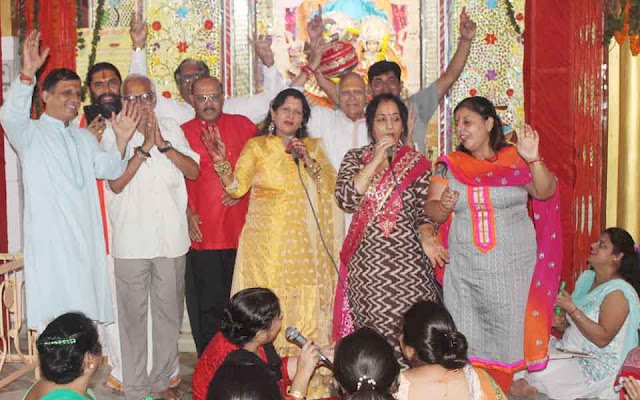 Celebration of the Sixth Festival in the Shree Bhenke Bihari Temple in Faridabad