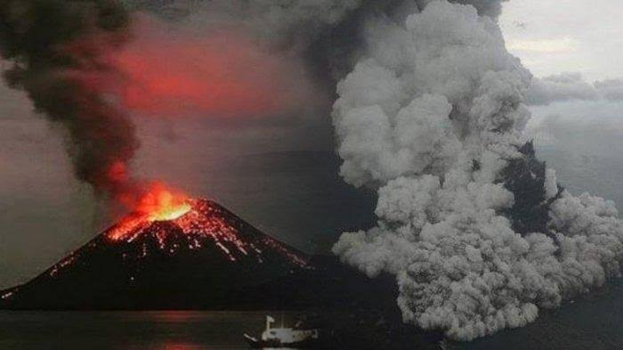 Anak Gunung Krakatau.