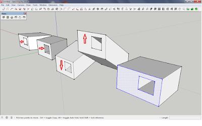 Cara Menggunakan Move Tools Di Sketchup