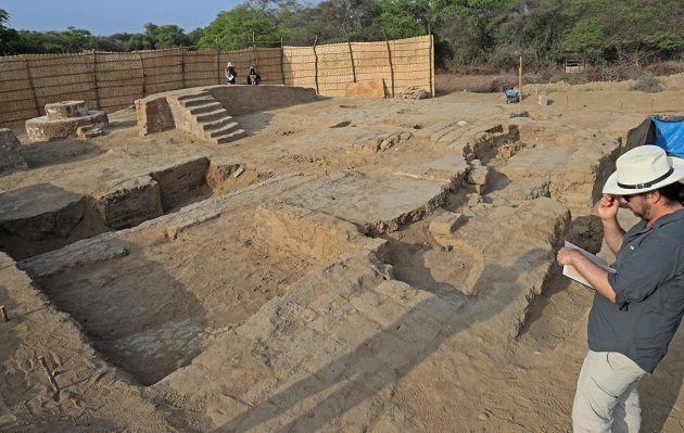 Moche ceremonial banquet hall unearthed in Peru