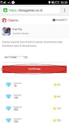 voucher garena gratis untuk free fire