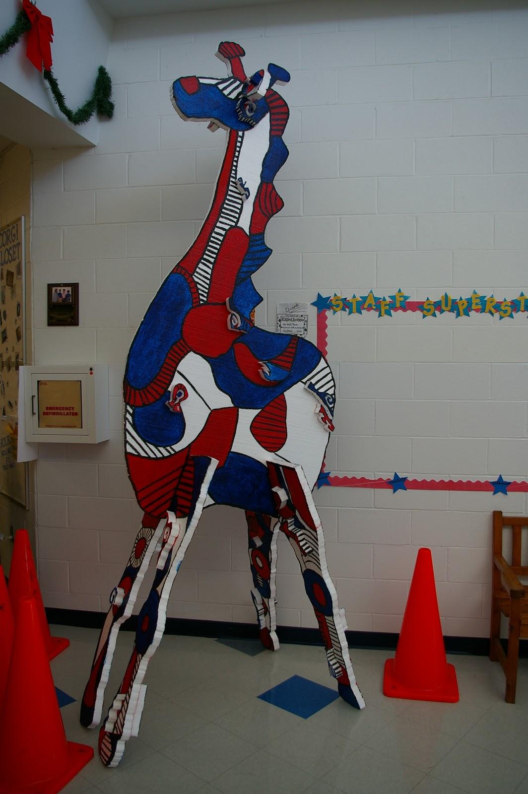 My Messy Art Room Jean Dubuffet Mega Animal Sculpture Update 1