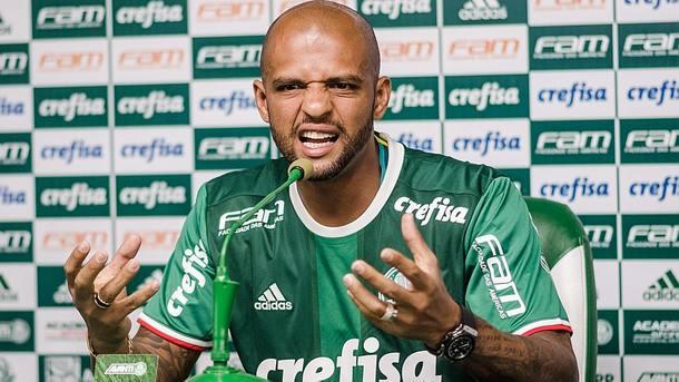 Felipe Melo promete entrega pelo Palmeiras Foto: Ícar Limaverde/Estadão
