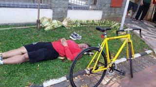 Meninggal Setelah Olah Raga Bersepeda.. Ukur Kemampuan Fisik Anda