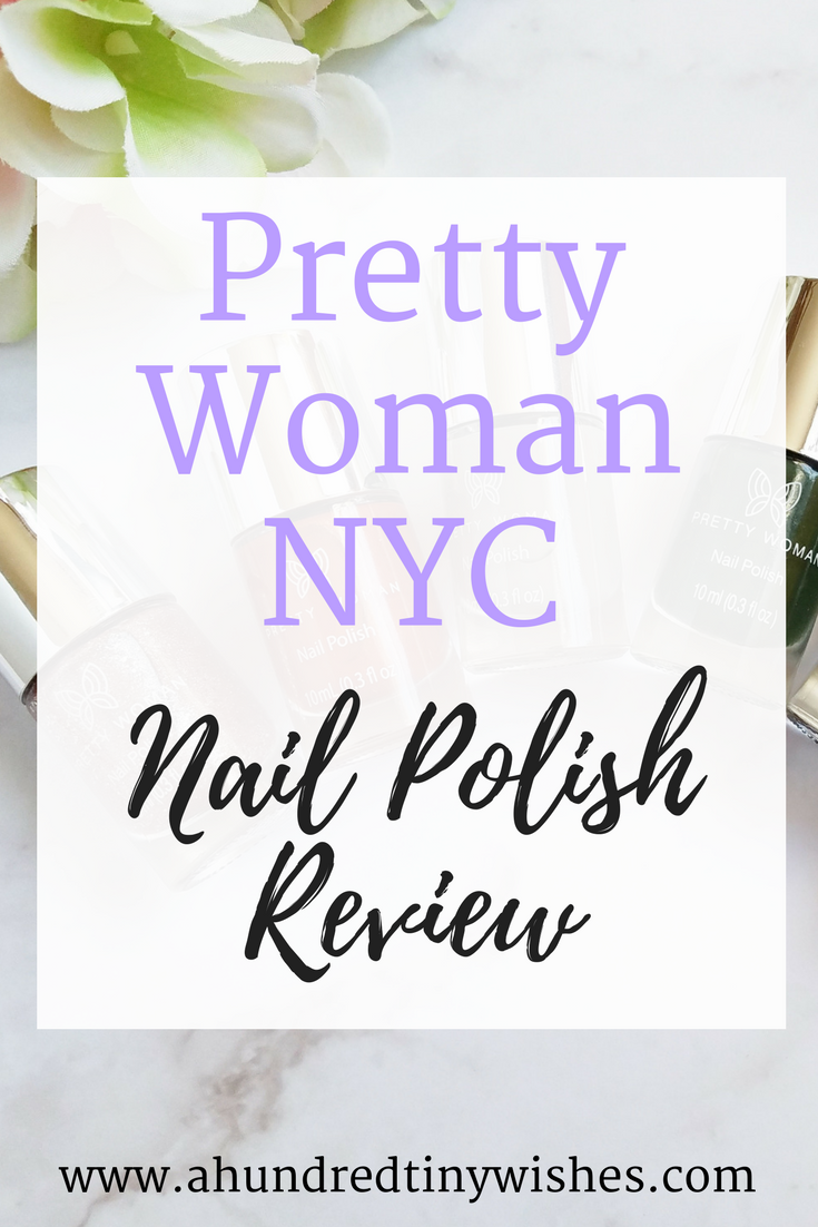 Pretty Woman NYC nail polish, blogger nail polish favorites, nail polish, vegan