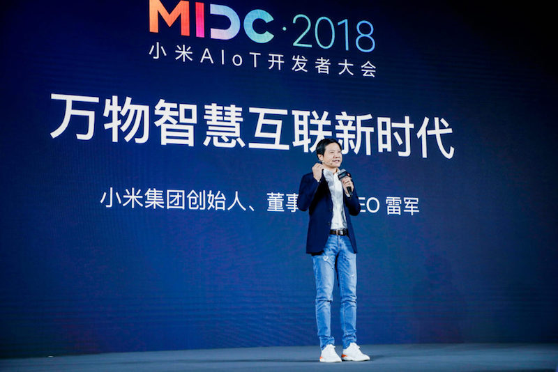 Xiaomi at MIDC conference 2018