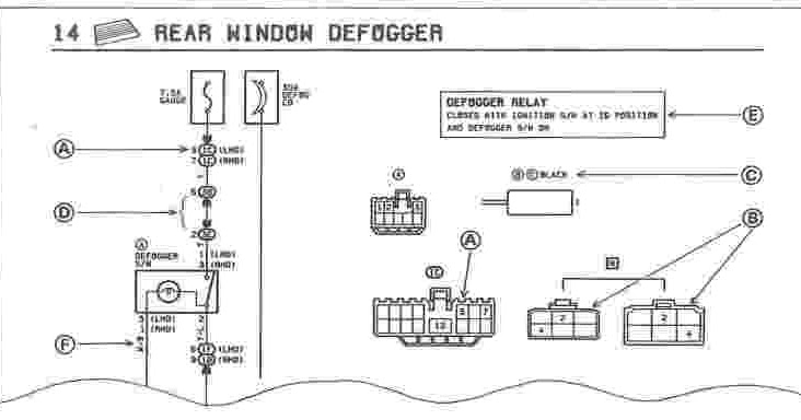 1987 Toyota Corolla Electrical Wiring Diagram  Wiring