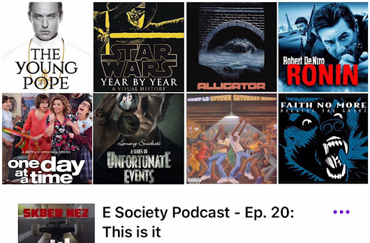 E Society Pod Episodes 20 and 21 Show notes and Links.