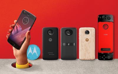 Modular Smartphone - Motorola Moto Z2 Play