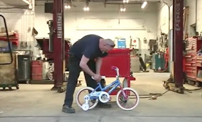 Dying Man Spends Last Days Fixing Bikes For Kids in Need