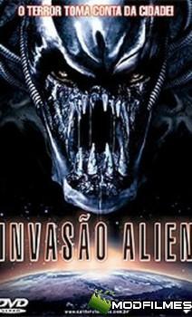 Capa do Filme Invasão Alien