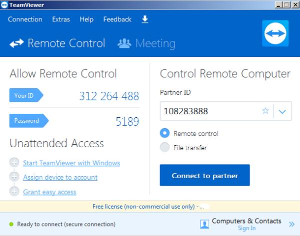 [download] - Tải Teamviewer 12 full cho máy tính miễn phí c