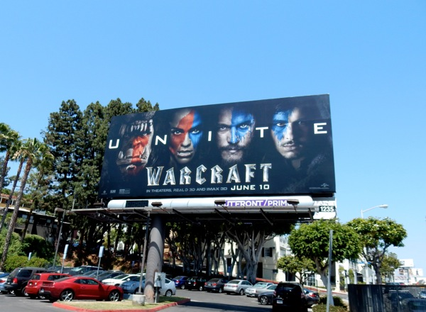 Warcraft Unite billboard