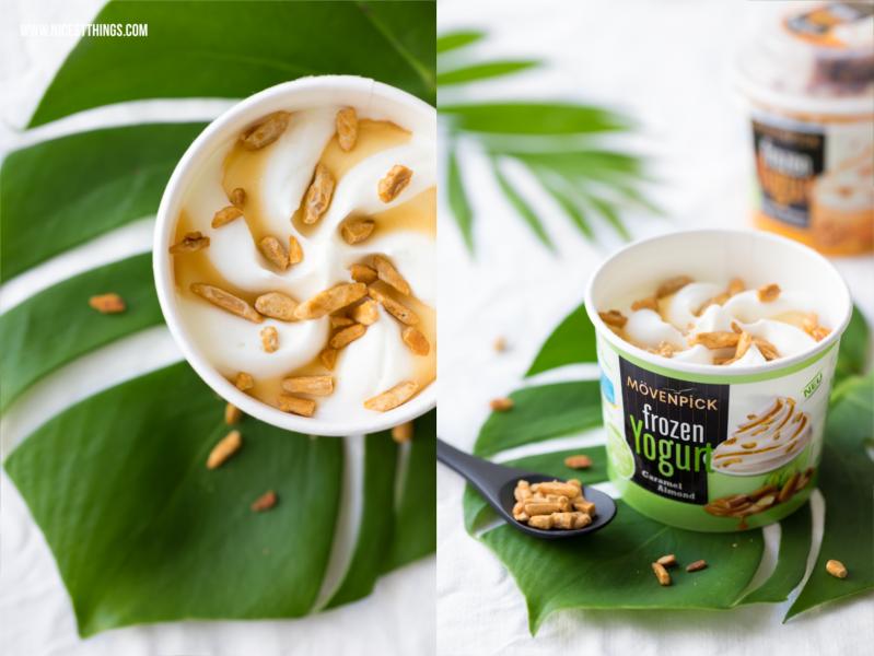 Mövenpick Frozen Yogurt Almond Caramel