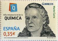 AÑO INTERNACIONAL DE LA QUÍMICA, MARIE CURIE
