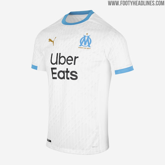 Olympique Marseille 20-21 Home, Away & Goalkeeper Kits Released ...