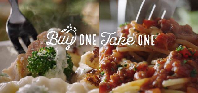 Buy One Take One Returns At Olive Garden For Summer 2018 Brand Eating