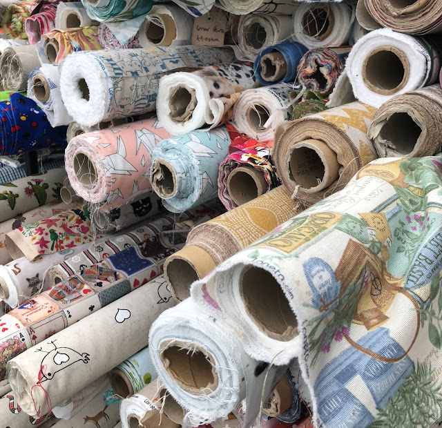 Fabric in the Shopping Village