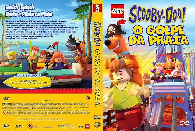 Capa DVD LEGO Scooby-Doo! O Golpe da Praia [Custom]