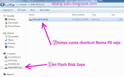 virus short cut di flash disk