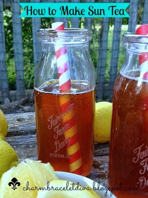 vintage milk bottles homemade iced tea